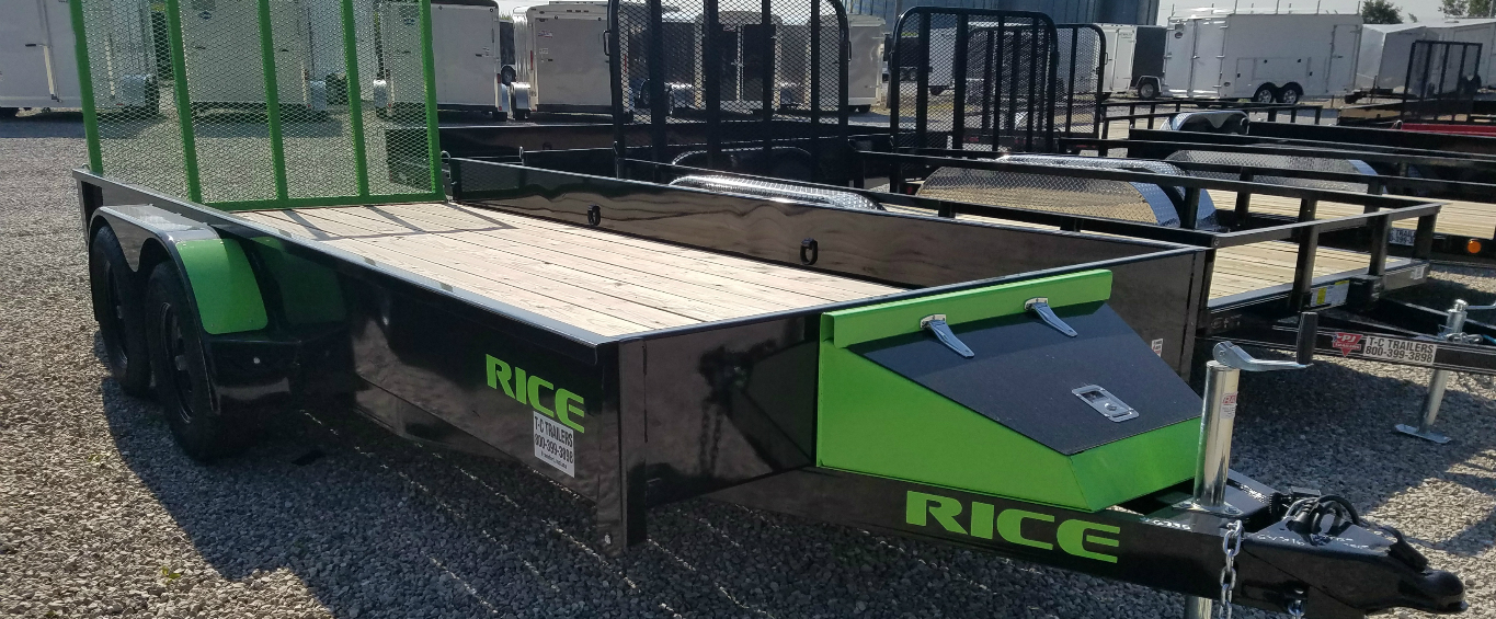 RICE TANDEM AXLE UTILITY